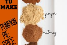 Pumpkin and Spice / Yummy pumpkin and spice recipes / by Suzanne King