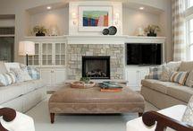 Family room / by Lelia Oakley