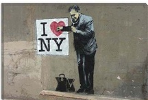 Banksy - some of my favorites / by Brittany Weeden