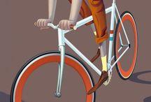 Bici Bike Vélo  / Bicicletas / by Celso Rocca