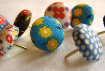 Fabric scraps crafts / by Tracey Jennings
