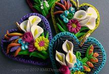 Polymer clay & sculpture / by Heidi Crowley