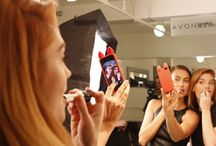 Avon Makeup at New York Fashion Week / Avon Makeup sponsored the Elizabeth and James Spring 2014 Presentation at New York Fashion Week. Avon Global Celebrity Makeup Artist Lauren Andersen crafted the modern and minimalistic beauty look using Avon Makeup. / by Avon Insider