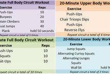 Workouts! / by Sara Man
