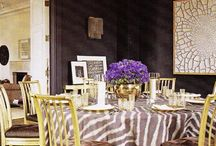 dining rooms / by Sharon Taylor Designs of Pickwick House