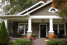 Exterior home idea's / by Alison Pirrie