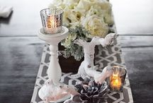 Centerpieces- they make the difference!! / by D L