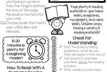 Kindergarten- Homework / by Amber Puckett