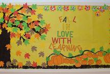 Monthly theme wall / by Priya Kishore