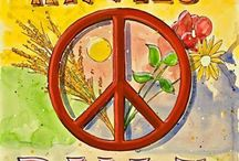 Counterculture Hippy / 1960's Hippy, Drug, Protest, Psychedelia / by Steven Ourada