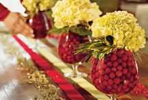 Thanksmas Decorations / Easy and Fun Decorations that will suit both Christmas and Thanksgiving / by All Things Christmas