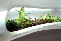 Modern indoor planters / by luludi living frames