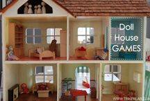 Dolls and Doll Houses / by Jean Van't Hul :: The Artful Parent