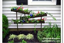 My Lowe's Creative Ideas Projects / As a member of the Lowe's Creative Ideas Blogger Network, each month I'll have a new gardening idea for you! / by Kylee Baumle