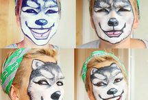 Face painting  / by Emma Dromgoole