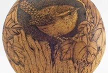 Pyrography / The art of burning an image onto a piece, well, almost anything....here are truly some works of art....there are amazingly talented people all over the world, and here is just a small sample of some of them! / by Frank Kaminski