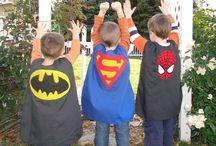 Super héros / Diverses idées sur le thème des supers héros / by Nathalie Pelletier