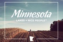 "If you can drink tap water & breathe the air, say ""Shh"" / Homage to my home state, Minnesota. XOXO. / by Bailey Aro"
