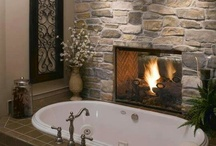 Fireplace ideas for my hubby / by Erin Cyr