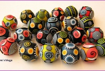 Beads / amazing original beads and beading / by Blanka Prskavcová