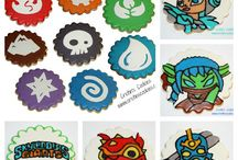 Skylanders Birthday / by Whimsically Detailed