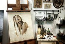 Artist Studios / by Gina Julian