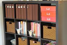 Scrapbook organization / by Kristina Burns