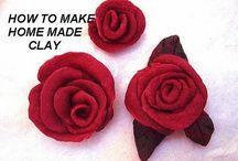 clay flowers / by Donna Allen