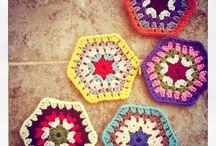 Haken zeshoek // crochet hexagon / by rianne