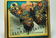 Cards, handmade greetings of meaning / Handmade greeting cards to admire and draw inspiration  / by Shirley Bennett