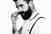 Art of Being Manly / Valuable Asserts of Man- # Beards #Moustaches #Hairstyles #Fashion #tattoos / by Jagmeet Singh