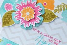 Cards Happiness in Bloom / by Emily Hyvl