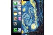 Graphic iPhone 5 Cases / Follow the Fashion Trending World of iPhone 5 Cases, Exploring the Top Designs From Fine Art paintings to Custom Design Monograms! / by Hot Buckles and Fashion Apparel