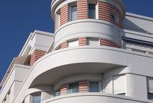 Art Deco Architecture / by Vesna Vujovic-Utjesinovic II