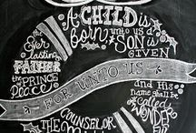 Chalkboard inspiration  / by Elizabeth Spinsby