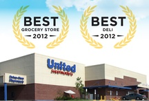 Best of the Best / Our Guests say it best! With grateful appreciation, thank you to our Guests who frequently vote us among the best businesses in their communities. / by United Supermarkets