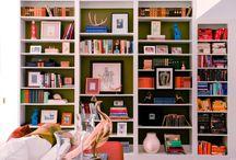 Bookshelves / by Katie Hodges