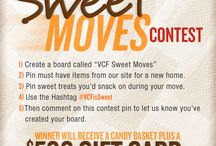Sweet Moves Contest / Pin for a Chance to Win a Candy Basket and a $500 VCF Gift Card! / by Value City Furniture