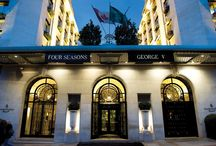 Guest Pinner: Four Seasons Hotel George V / We've invited the Four Seasons George V Paris, a grand luxury 244-room hotel near the Champs-Elysées to guest pin for us this week.  Follow us here for an insider's look at the hotel which is lavishly decorated with crystal chandeliers, 17th-century tapestries, Louis XVI-style furniture, wonderful antiques, paintings and objets d'art. Follow the hotel at @fsparis. #ahinsiders / by Andrew Harper Travel