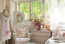 Shabby Chic Love / Shabby chic things that inspire me. / by Liisa Sanchez