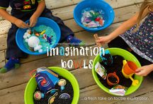 Little Learners-Sensory and Busy Bags / by Ashley Bryant
