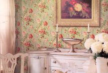 wallpaper / by Mary @ At Home on the Bay