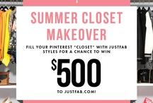 Just Fab Closet / by Jamie Nichol