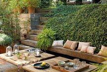 Outdoor living areas for great bbq's / by Traeger Grills