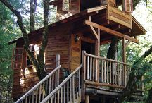 Tree Houses / I am gonna build one !!! / by Lisa Crates
