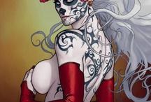 comic book art / by dennis delarosa
