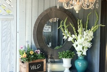Entry Way Ideas / by Martha
