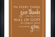 Thanksgiving Quotes/Printables / by Michelle Porter