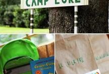 woodland/camping birthday / by Kristi Carsrud Farrell