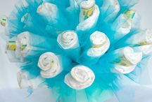Gift Ideas - Baby Showers / Diaper Cakes and other cool gifts for baby! / by Tori - Platinum Elegance Weddings & Events